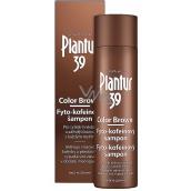 Plantur 39 Color Brown fyto-kofeínový šampón pre sýtejšie hnedú farbu vlasov, proti vypadávaniu vlasov 250 ml