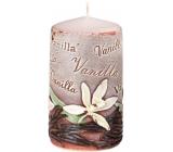 Emóciám Vanilka Vanilla vonná sviečka valec 60 x 110 mm