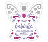 Albi Závesná plaketka anjelik Babička 9 x 10 cm