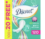 Discreet Deo Waterlily slipové intímne vložky pre každodenné použitie 120 kusov