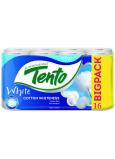 Tento Cotton Whiteness toaletný papier biely 2 vrstvový 131 útržkov 16 kusov
