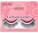 Absolute Cosmetics Fashion Lashes Umelé nalepovacie riasy stredné až dlhé obloučkové čierne 082 čierne 1 pár