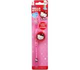 Hello Kitty Soft zubní kartáček s krytkou
