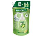 Palmolive Magic Softness Lemon & Mint penový tekutý prípravok na umývanie rúk náhradná náplň 500 ml