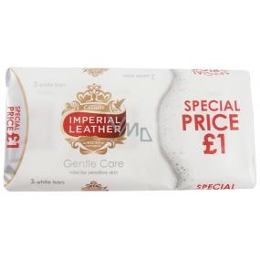 Cussons Imperial Leather Gentle Care tuhé toaletné mydlo 3 x 100 g