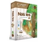 Albi Kouzelné čtení interaktivní mluvící puzzle Náš les
