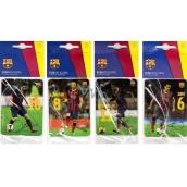FC Barcelona Sport energy aromatická vonná karta do auta náhodný výběr expirace 02/2017