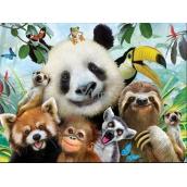 Prime3D plagát Zoo - Selfie 39,5 x 29,5 cm