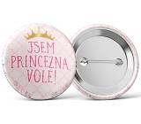 Nekupto Placka Som princezná, Vole! 5,5 cm