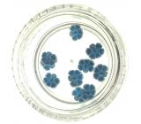 Professional Ozdoby na nechty kvetina (7) modré 132
