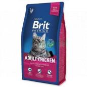 Brit Premium Adult kura kompletné krmivo pre dospelé mačky 1,5 kg