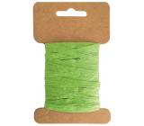 Lyko papierové zelené šírka 2 cm, 10 m