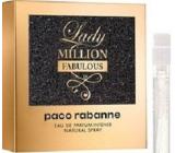 DÁREK Paco Rabanne Lady Million Fabulous parfemovaná voda pro ženy 1,5 ml s rozprašovačem, vialka