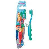 Abella Buddy Kids strednej zubná kefka rôzne farby pre deti 1 kus