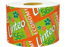 Linteo Economy toaletní papír bílý a barevný 2 vrstvý 56 m 1 kus