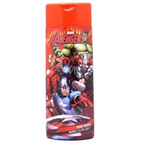 Marvel Avengers 2v1 sprchový gél a pena do kúpeľa pre deti 400 ml