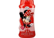 Disney Minnie 2v1 kúpeľový a sprchový gél pre deti 475 ml