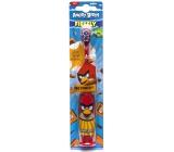Angry Birds Turbo měkký elektrický zubní kartáček pro děti