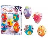 Sada k dekorování vajíček Veselé kytičky