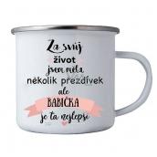 Bohemia Gifts Plecháček s potlačou pre babičku 8 cm