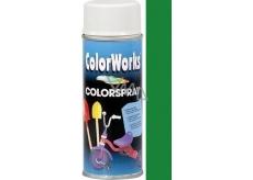 Color Works Colorsprej 918511C středně zelený alkydový lak 400 ml