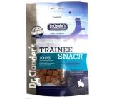 Dr. Clauders Trainee Snack Rabbit sušené králičie kostičky doplnkové krmivo 100% mäsa pre psov 80 g