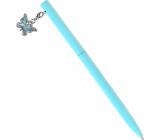 Albi Prepisovačka s motýlikom modrá 14 cm