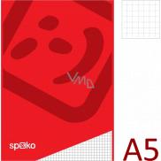Spoko Blok lepený štvorčekový A5 50 listov 60 g