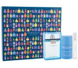 Versace Eau Fraiche Man toaletná voda pre mužov 100 ml + deostick 75 ml + toaletná voda 10 ml, darčeková sada