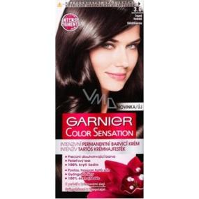 Garnier Color Sensation Barva Na Vlasy 3 0 Tmave Hneda Vmd Drogerie