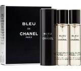 Chanel Bleu De Chanel toaletní voda komplet pro muže 3 x 20 ml