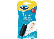 Scholl Velvet Smooth Express Pedi náhradní válečky 2 kusy