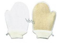 Lufa Cylindrica Masážna žinka rukavica + froté žinka 16 x 24 cm vhodné aj pre alergikov 1 kus