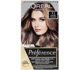 Loreal Paris Préférence farba na vlasy 7.1 Iceland Blond popolavá