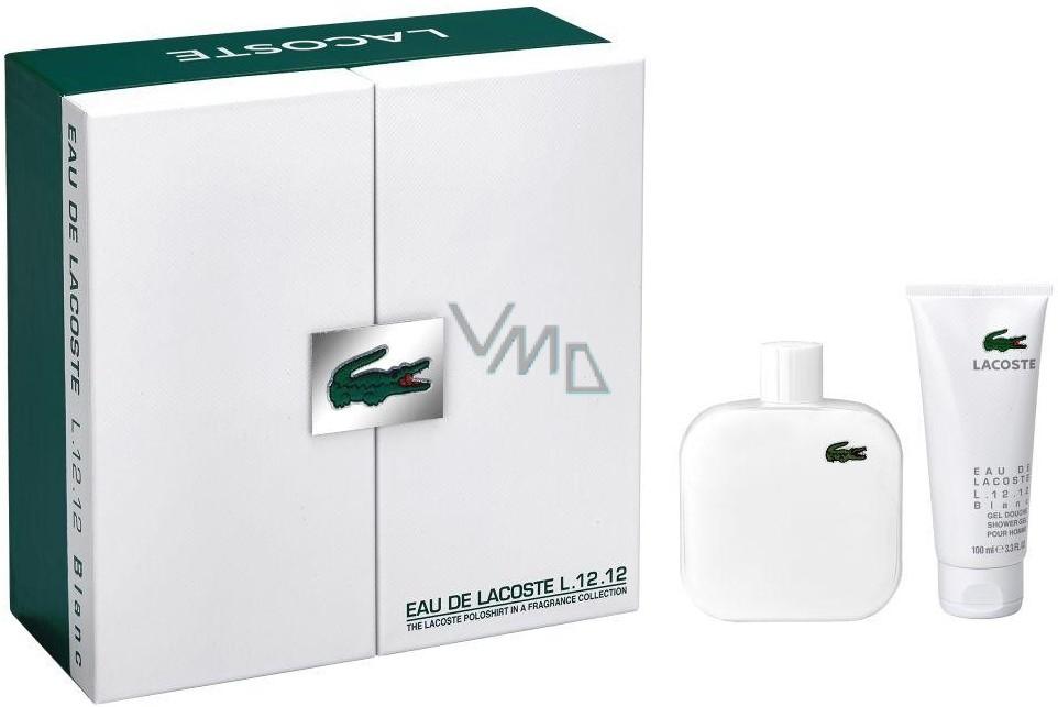 88ee013a9d Lacoste Eau de Lacoste L.12.12 Blanc toaletní voda pro muže 175 ml +  sprchový