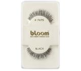 Bloom Natural nalepovací řasy z přírodních vlasů obloučkové černé č. 747S 1 pár