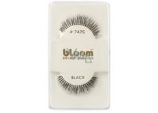 Bloom Natural nalepovacie riasy z prírodných vlasov obloučkové čiernej č. 747S 1 pár