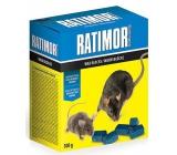 Ratimor parafínové bloky jed na hubenie hlodavcov s vysokou odolnosťou proti vlhkosti 300 g