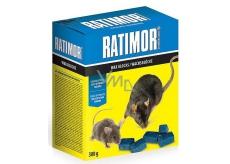 Ratimor parafínové bloky jed na hubení hlodavců s vysokou odolností proti vlhkosti 300 g