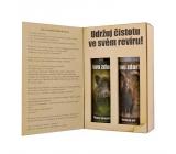 Bohemia Gifts Pre poľovníkov sprchový gél 200 mk + šampón na vlasy 200 ml kniha kozmetická sada kniha