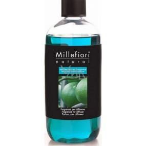 Millefiori Milano Natural Mediterranean Bergamot - Stredomorský bergamot Náplň difuzéra pre vonná steblá 250 ml