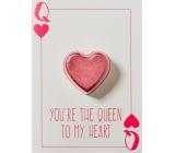 Bomb Cosmetics Queen to My Heart Šumivé želanie s balistiky 40 g