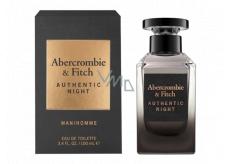 Abercrombie & Fitch Authentic Night Man toaletná voda pre mužov 100 ml