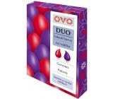 Ovo Tekuté farby duo Červená / Fialová 2 farby á 20 ml: 1 sáčok (20 ml)