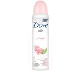 Dove Go Fresh Granátové jablko & Verbena antiperspitant deodorant sprej pro ženy 150 ml