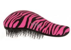 Dtangler Detangling Brush Kefa pre ľahké rozčesanie vlasov 18,5 ružovo-čierny