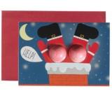 Bomb Cosmetics Šumivé přání Pomoc Santovi Vánoční přání