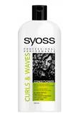 Syoss Curls & Waves kondicionér pre husté, hrubé alebo kučeravé vlasy 500 ml