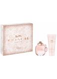 Coach Floral Eau de Parfum parfémovaná voda pro ženy 50 ml + tělové mléko 100 ml, dárková sada