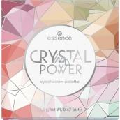 Essence Crystal Power paletka očných tieňov